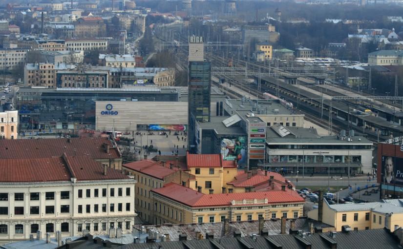 estacion tren riga letonia