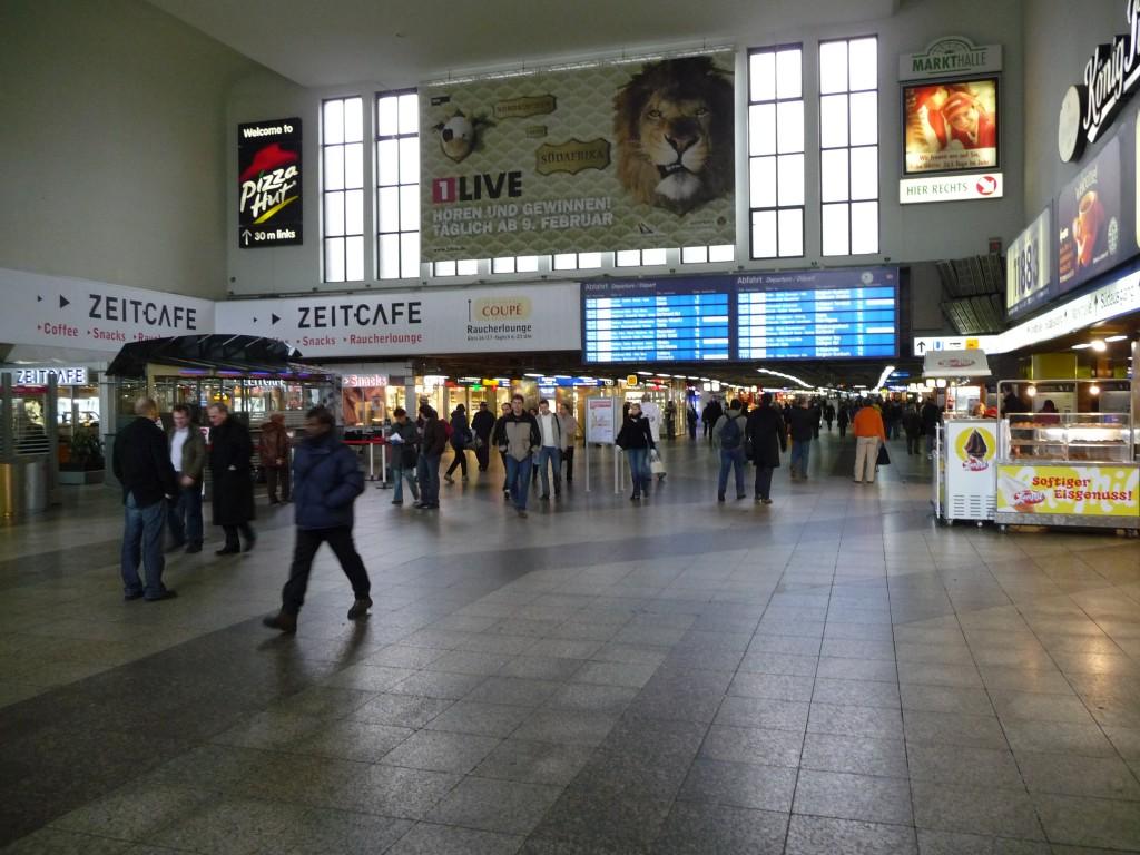 vestibulo estacion central trenes dusseldorf