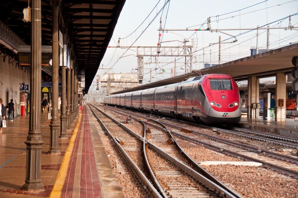 vias estacion trenes bolonia